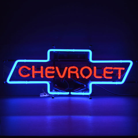 CHEVY BOWTIE NEON SIGN