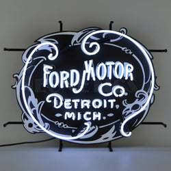 FORD MOTOR COMPANY 1903 HERITAGE EMBLEM NEON SIGN