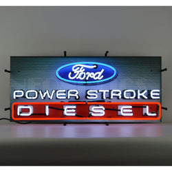 FORD POWER STROKE DIESEL NEON SIGN