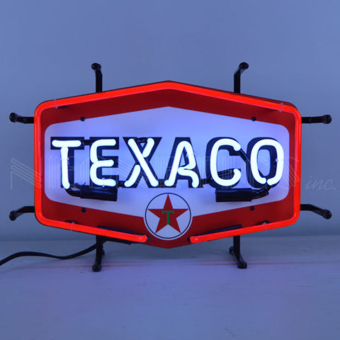 TEXACO HEXAGON JUNIOR NEON SIGN