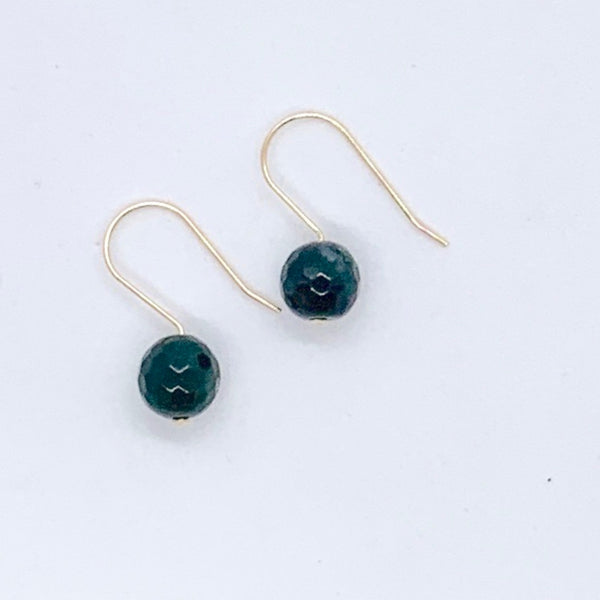 Indian Agate Minimalist Earrings