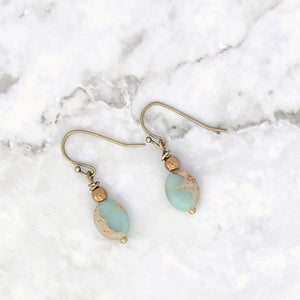Aqua Terra Oval Earrings