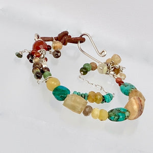 Mountain River Double Strand Toggle Bracelet