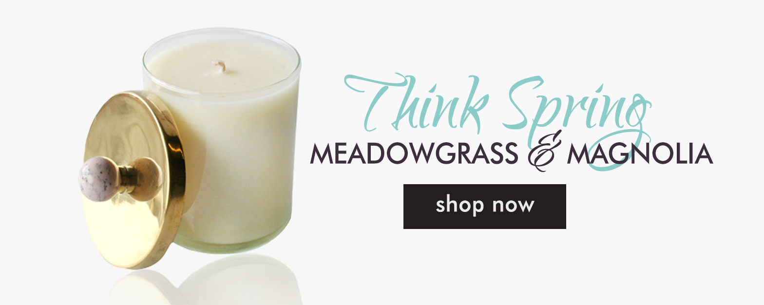 Peccadilly Spring Candle Feature