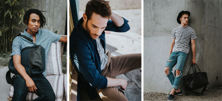 Peccadilly PX Clothing collection - handmade So Cal menswear