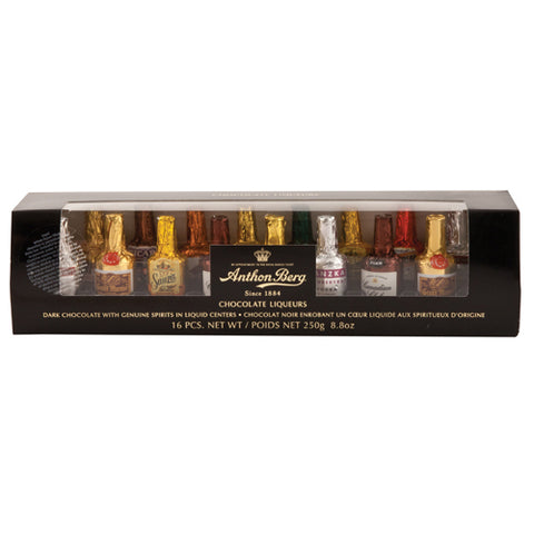Liqueur Filled Chocolates Assorted 16-Piece