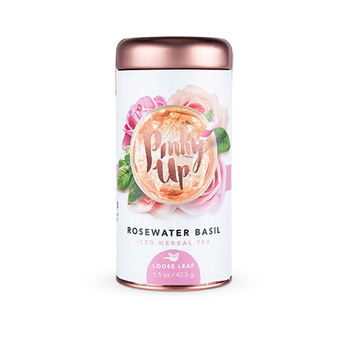 Loose Leaf Craft Iced Teas-PINKY UP-Rosewater Basil-Peccadilly