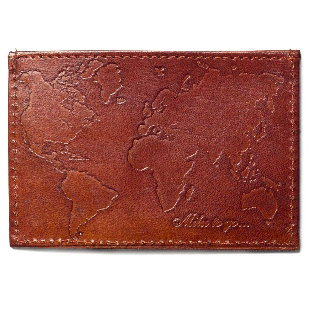 Compact Sustainable Leather Wallet Fair Trade-Men - Accessories - Wallets + Card Cases-MATR BOOMIE FAIR TRADE-Peccadilly