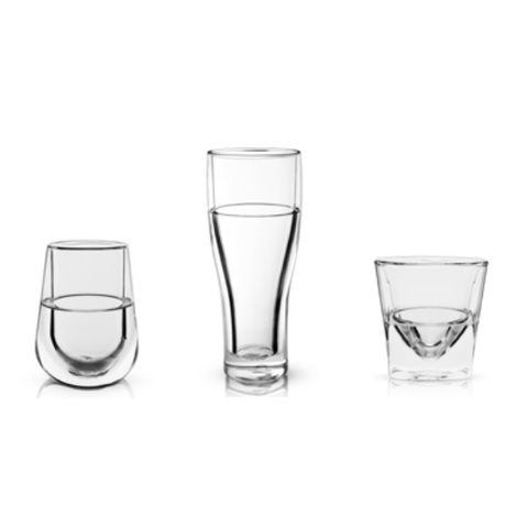 Double Walled Chilling Bar Glasses