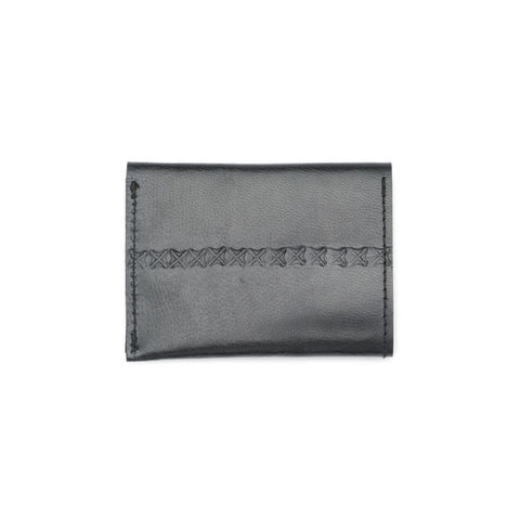 Sustainable Leather Black Fair Trade Wallet