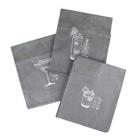 Admiral Bar Cart Cocktail Towels