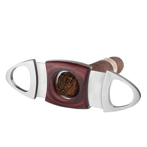 Admiral Fuma Wood Cigar Cutter