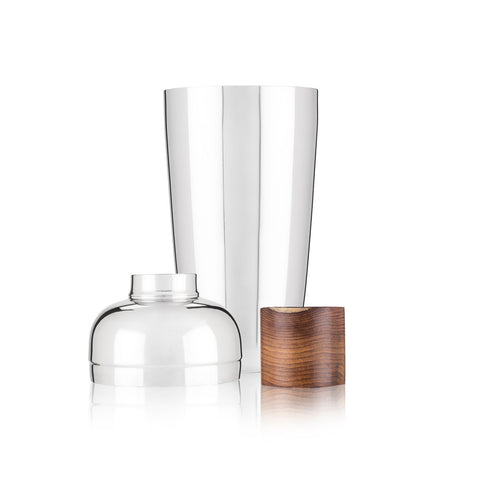 Admiral Mango Wood & Stainless Steel Cocktail Shaker