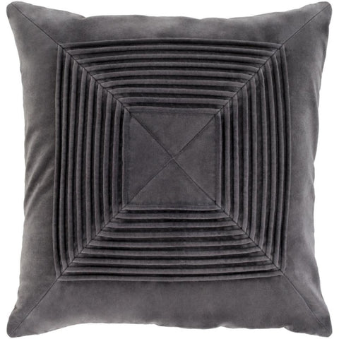 Akira Velvet Pleated Pillow