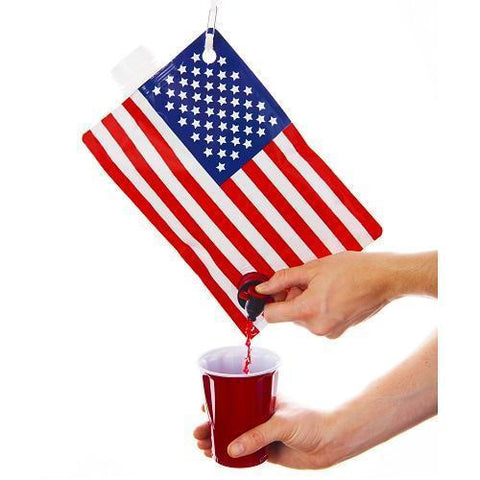 American Flag Drink Dispenser