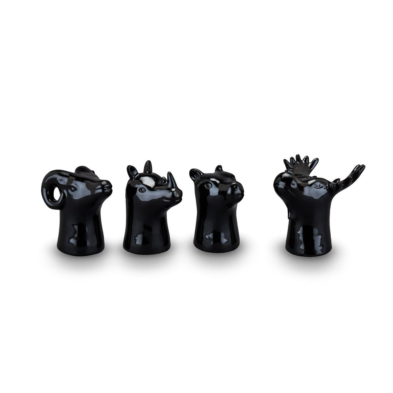Animal Head Shot Glasses-Home - Entertaining - Shot Glasses Sets-FOSTER AND RYE-Peccadilly