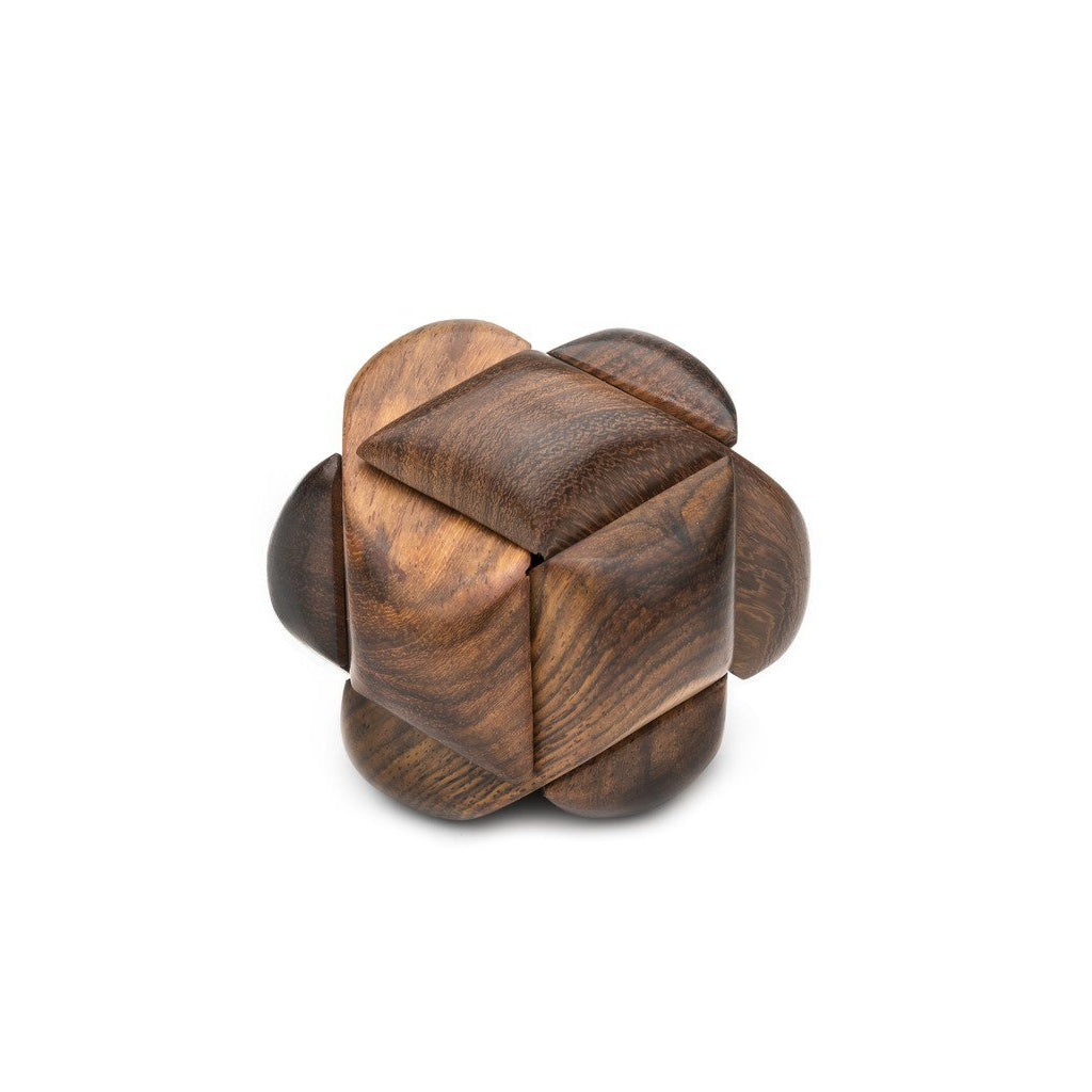 Sustainable Wooden Knot Puzzle Fair Trade-Home - Entertaining - Fun + Games-MATR BOOMIE FAIR TRADE-Peccadilly