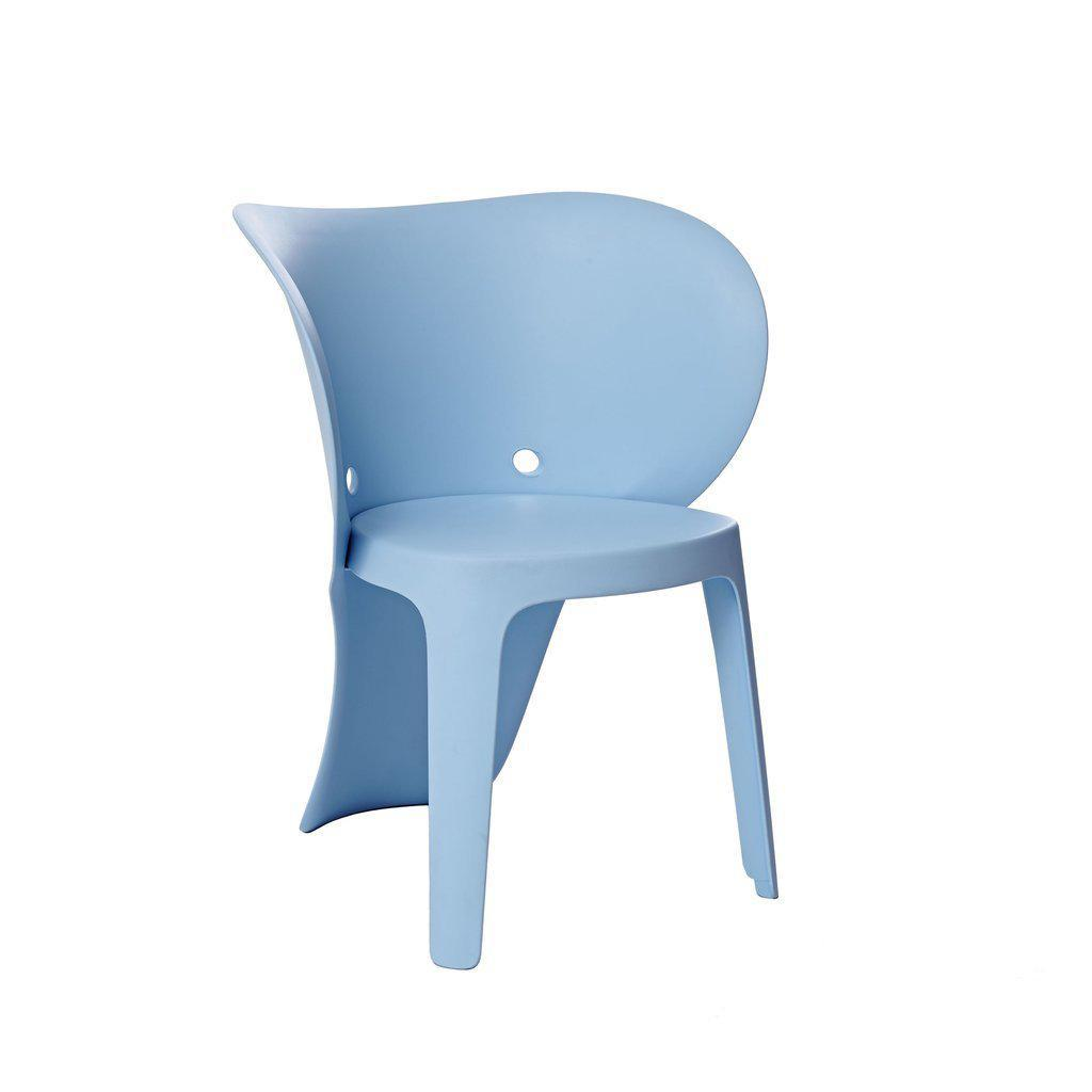 Baby Elephant-Inspired Children's Chairs (Set of 4)-Home - Furniture - Lounge Chairs + Side Chairs-DESIGN LAB MN-Blue-Peccadilly