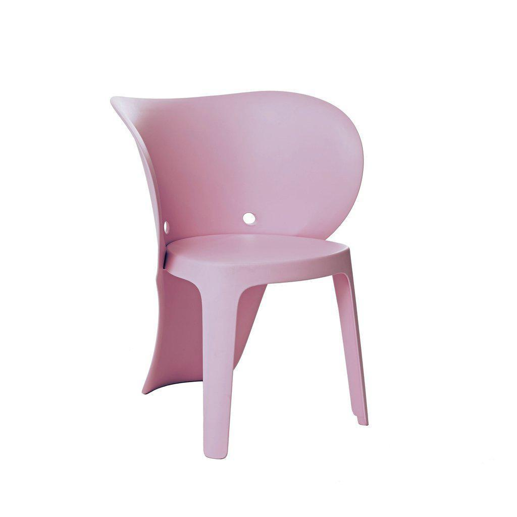 Baby Elephant-Inspired Children's Chairs (Set of 4)-Home - Furniture - Lounge Chairs + Side Chairs-DESIGN LAB MN-Pink-Peccadilly