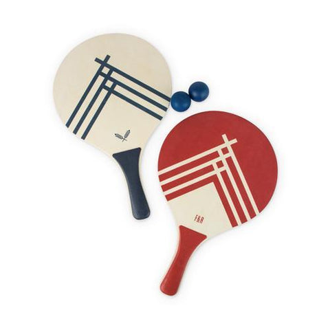 Beach Tennis Paddle Set