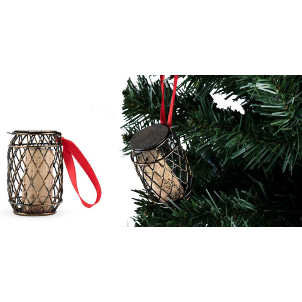 Bedeck Cork Holder Wine Cask Ornament-Home - Decor - Holiday - Ornaments-TRUE-Peccadilly