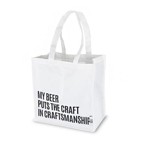 Beer Snob Growler Tote