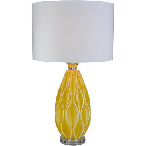 Bethany 27.5 x 16 x 16 Table Lamp-Home - Lighting - Table Lamps-SURYA-Yellow-Peccadilly