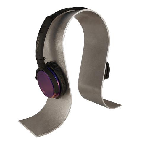 Brushed Aluminum Headphone Stand
