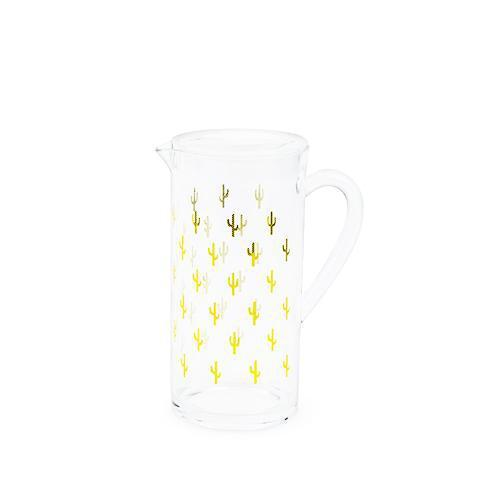 Cactus Acrylic Pitcher-Home - Entertaining - Pitchers-BLUSH-Peccadilly