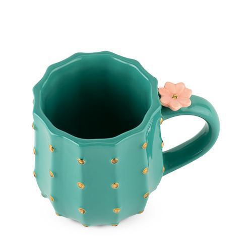 Cactus 3D Flower Tea and Coffee Mug-PINKY UP-Peccadilly