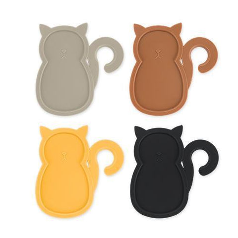 Cat Party Plates (Set of 4)