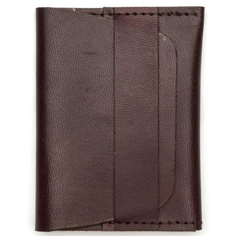 Sustainable Brown Leather Wallet Fair Trade