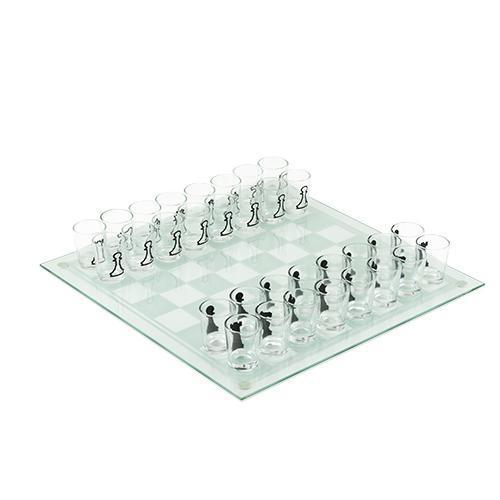 Chess Shot Glasses Game-Home - Entertaining - Fun + Games-TRUE-Peccadilly