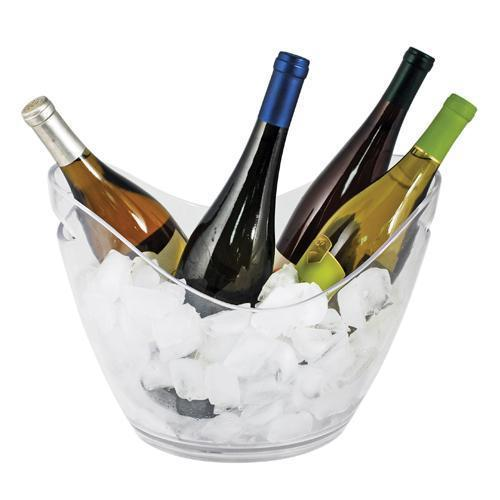 Chill Modern Acrylic Ice Bucket-Home - Entertaining - Ice Buckets-TRUE-Peccadilly