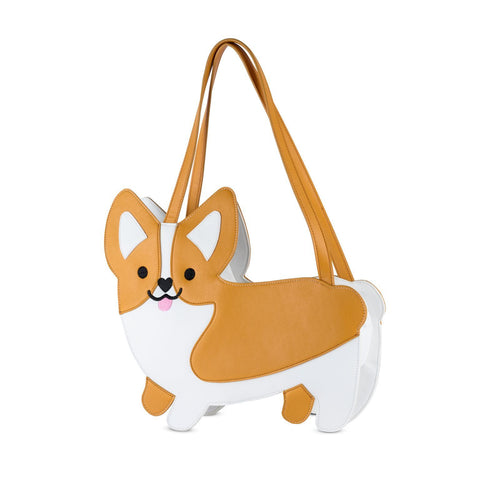 Corgi Dog Wine Cooler Tote