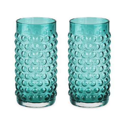 Country Cottage Hobnail Glassware Set