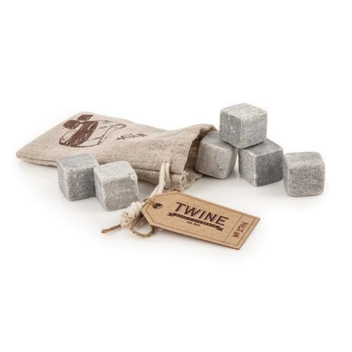Country Home Glacier Rock Cooling Stones-Home - Entertaining - Chilling Cubes Sets-TWINE-Peccadilly