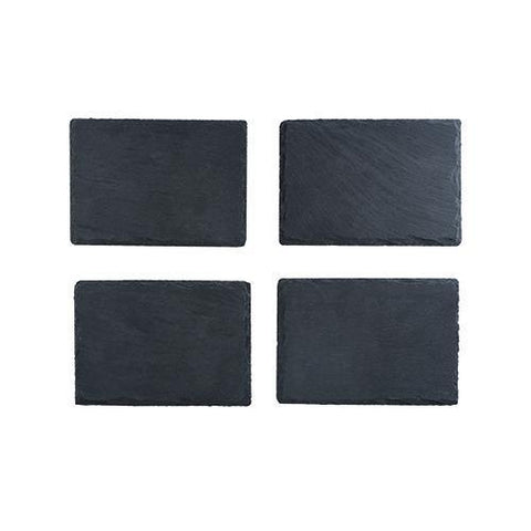 Country Home Slate Tapas Plate Set of 4