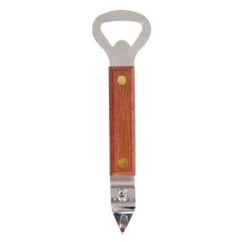 Country Home Wood Handled Church Key Bottle Opener
