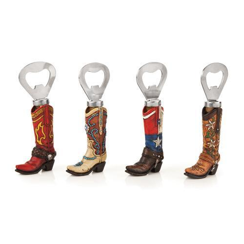 Cowboy Boot Bottle Openers-Home - Entertaining - Bottle Openers-FOSTER AND RYE-Peccadilly