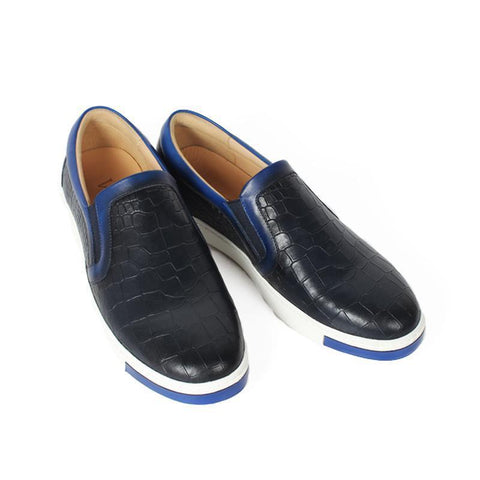Custom Retro Leather Casual Shoes