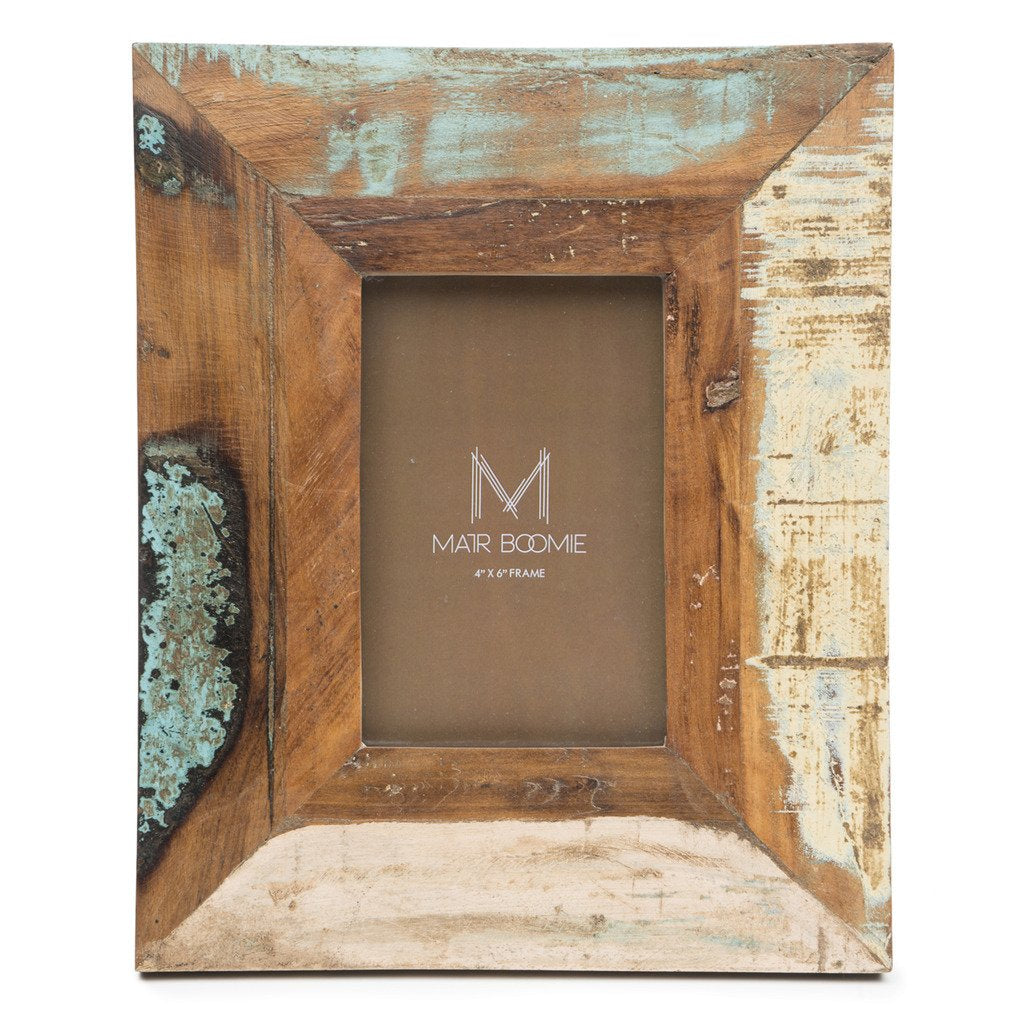 Puri Beach House Wood Frame Fair Trade-Home - Décor - Picture Frames-MATR BOOMIE FAIR TRADE-Peccadilly