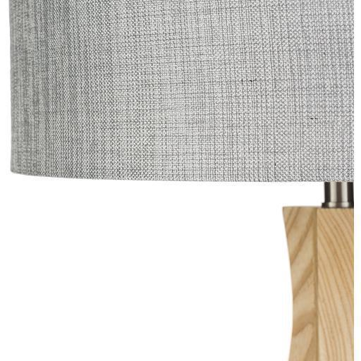 Duxbury 28.74 x 15.75 x 15.75 Natural Wood Table Lamp-Home - Lighting - Table Lamps-SURYA-Beige-Peccadilly