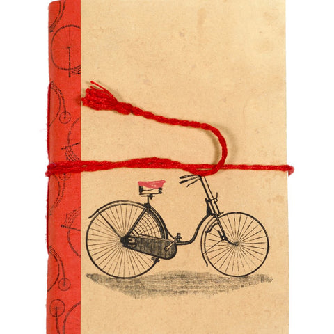 Vintage Bicycle Fair Trade Journal