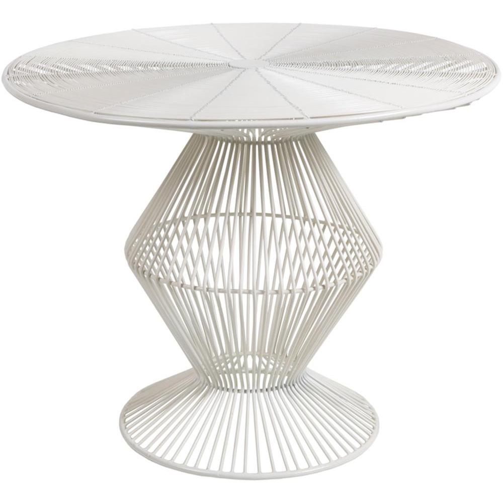 Fife Accent Table - White 23 x 23 x 18.5-Home - Furniture - End Tables + Side Tables-SURYA-Peccadilly