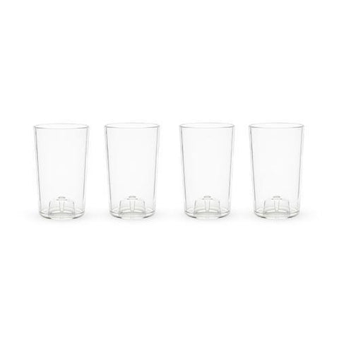 Flexi Set of 4 Shatterproof Shot Glasses