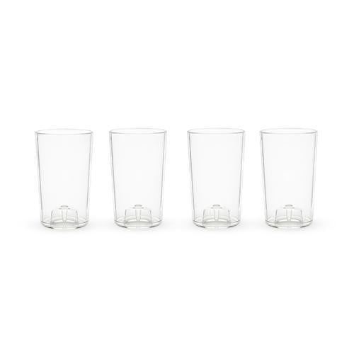 Flexi Set of 4 Shatterproof Shot Glasses-Home - Entertaining - Shot Glasses Sets-TRUE-Peccadilly