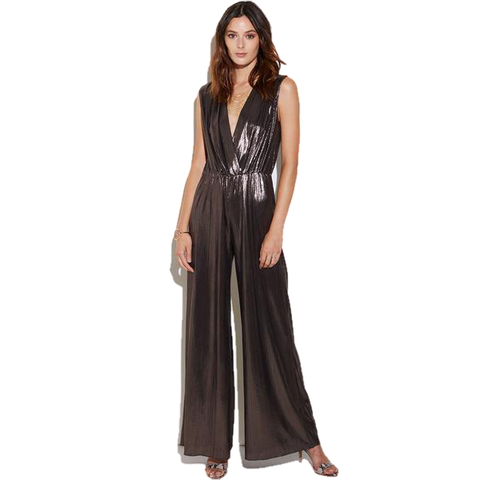 Gunnar Jumpsuit in Moonlight Metallic