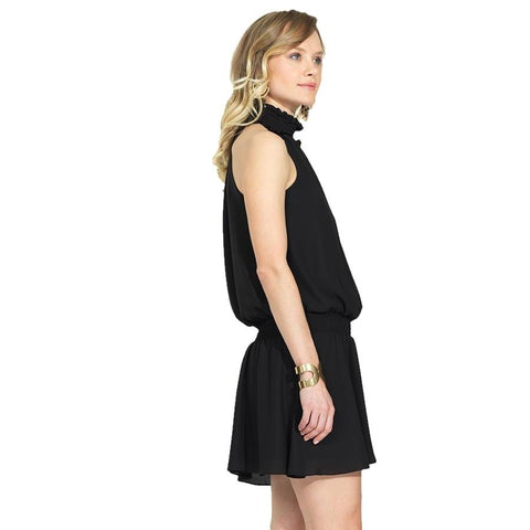 Halter Keyhole Kimmie Dress in Black
