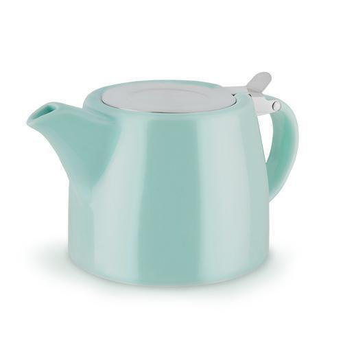 Harper Ceramic Teapot & Infuser-Home - Coffee + Tea - Teapot + Infusers-PINKY UP-Blue-Peccadilly